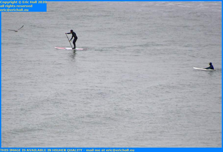 seagull paddle board english channel Granville Manche Normandy France Eric Hall