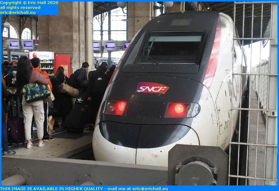 TGV Reseau Duplex 213 gare du Nord Paris France Eric Hall