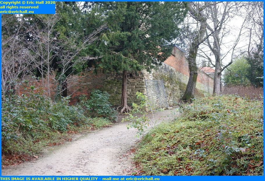medieval city walls sint donatus park leuven belgium Eric Hall