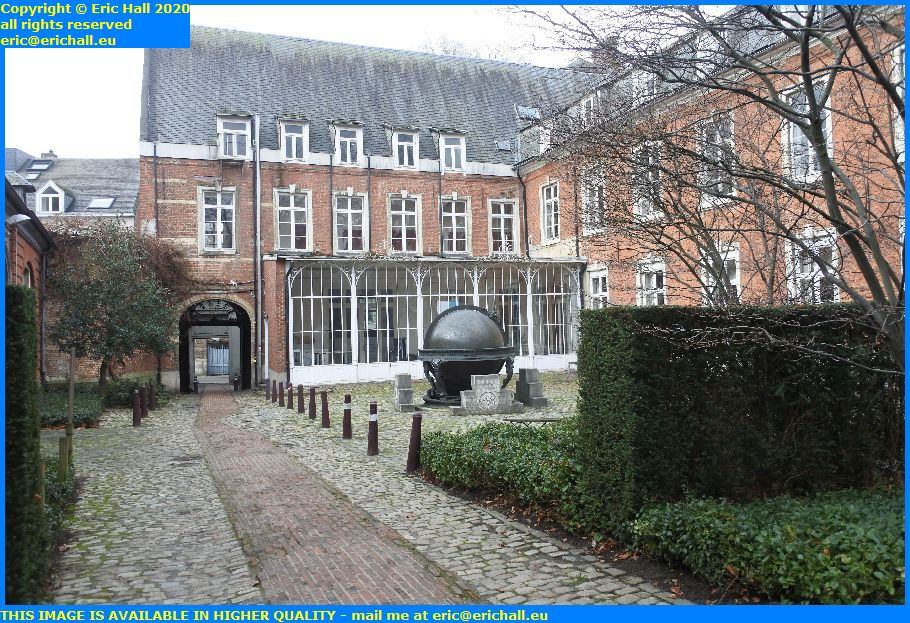 De Kangxi-Verbiest world globe naamsestraat leuven belgium Eric Hall