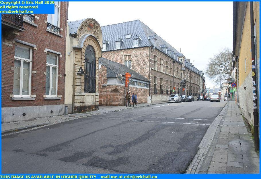 site of the proefsstraat gate naamsestraat leuven belgium Eric Hall