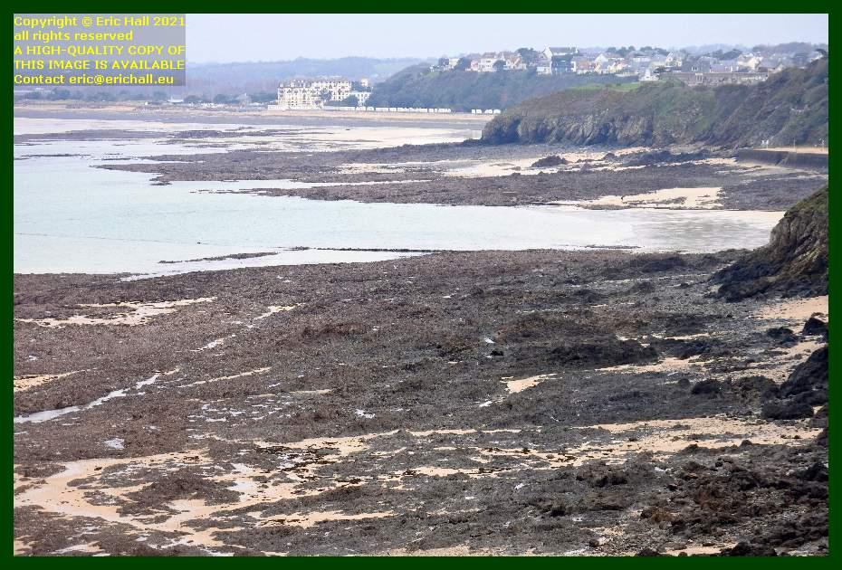 beach donville les bains Granville Manche Normandy France Eric Hall