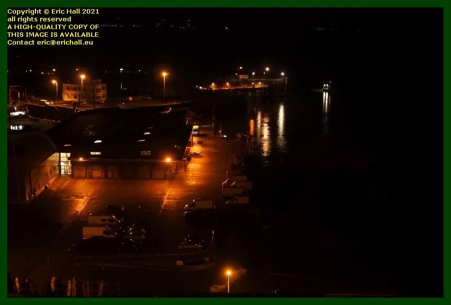 fish processing plant port de Granville harbour Manche Normandy France Eric Hall