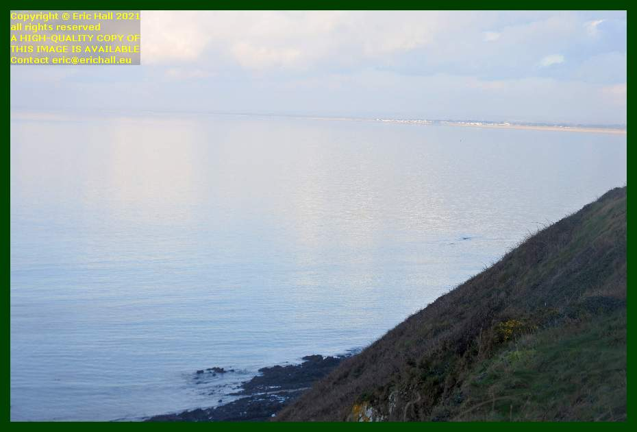 calm seas baie de Granville Manche Normandy France Eric Hall