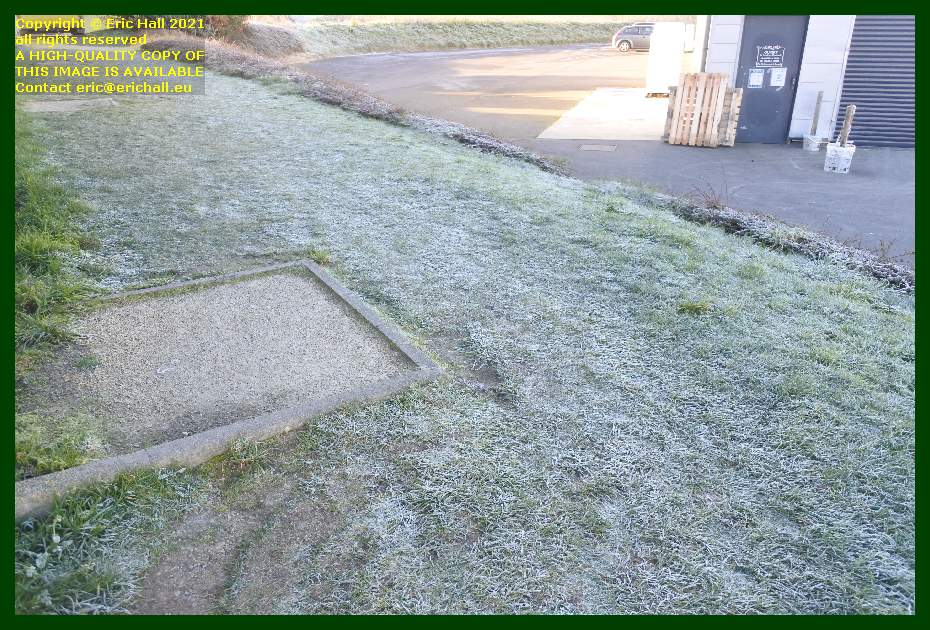 heavy frost noz Granville Manche Normandy France Eric Hall