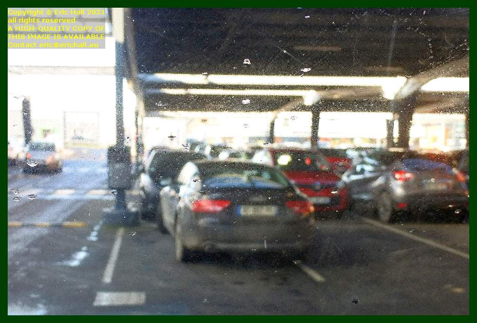 bad parking leclerc Granville Manche Normandy France Eric Hall