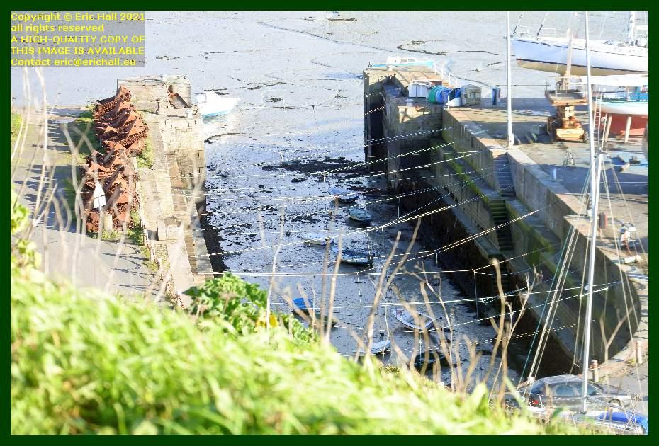 cale de radoub port de Granville harbour Manche Normandy France Eric Hall