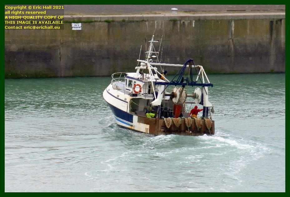 l'arc en ciel trawler port de Granville harbour Manche Normandy France Eric Hall