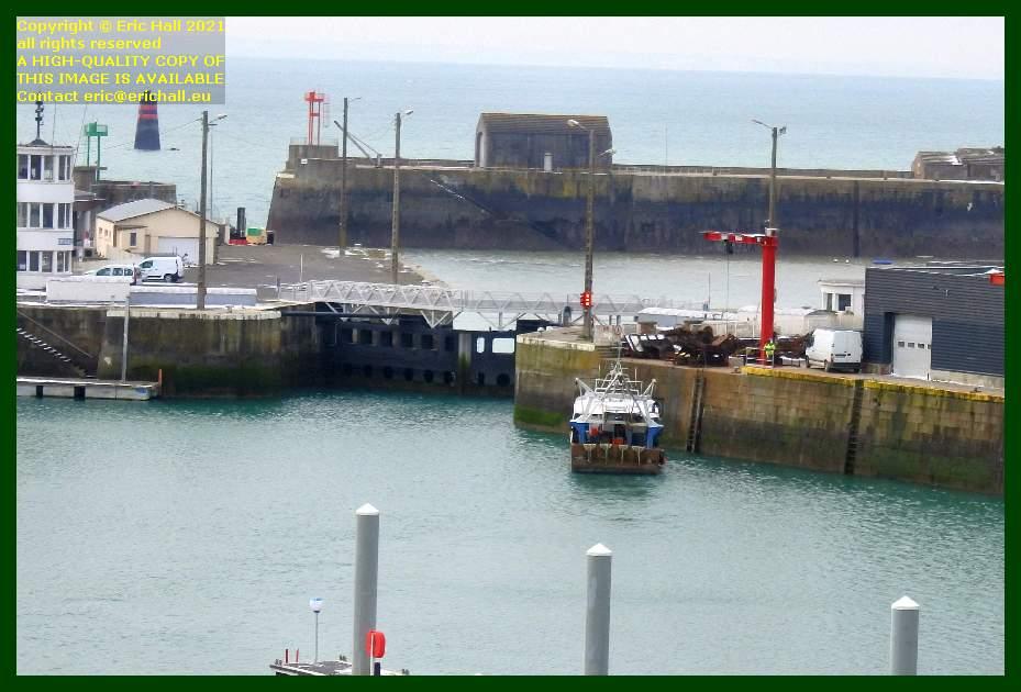 trawler port de Granville harbour Manche Normandy France Eric Hall