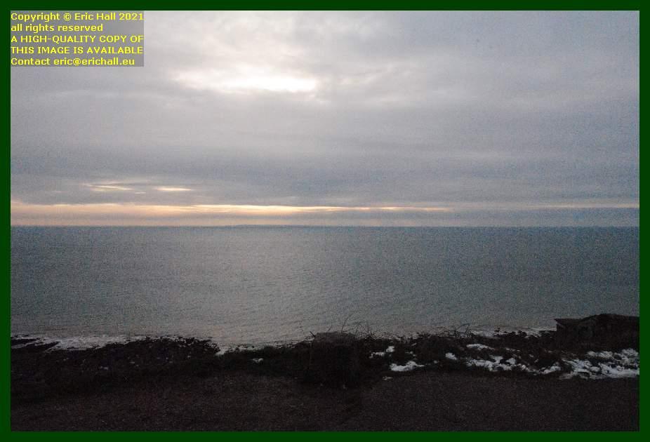 sunset baie de mont st michel brittany coast Granville Manche Normandy France Eric Hall