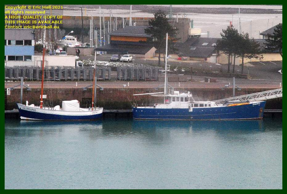 charles marie anakena port de Granville harbour Manche Normandy France Eric Hall