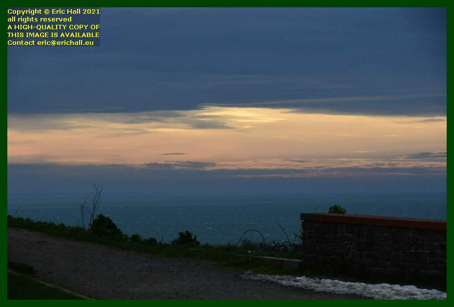 sunset brittany coast Granville Manche Normandy France Eric Hall
