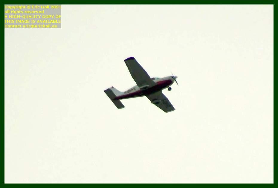 f-gnyz aeroplane pointe du roc Granville Manche Normandy France Eric Hall