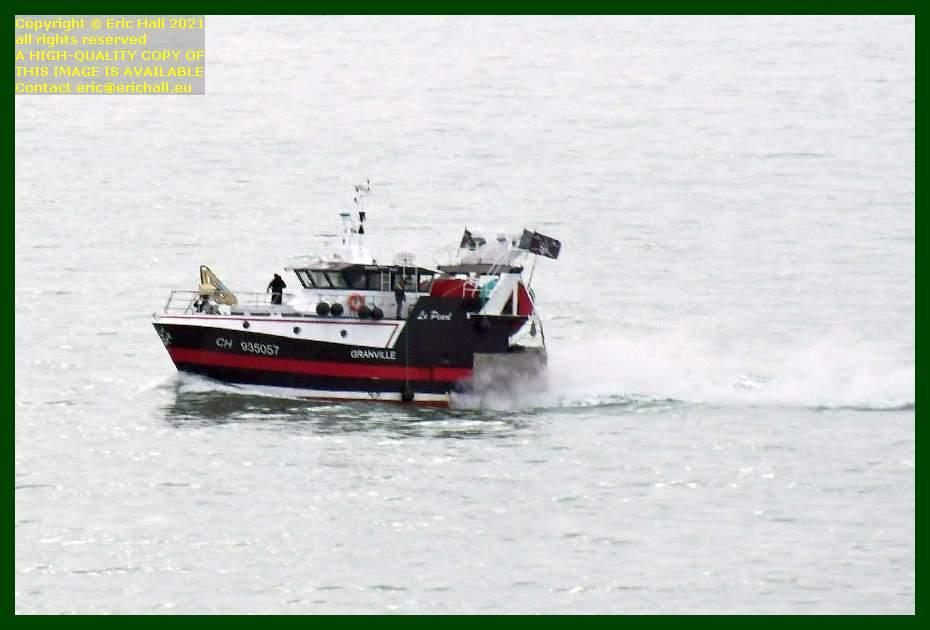 le pearl trawler baie de mont st michel Granville Manche Normandy France Eric Hall
