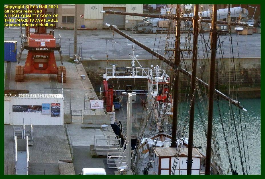 thora port de Granville harbour Granville Manche Normandy France Eric Hall