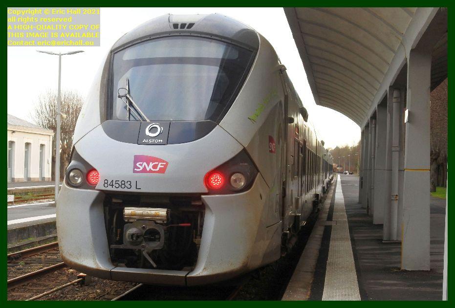 84583 gec alstom regiolis gare de Granville Manche Normandy France Eric Hall