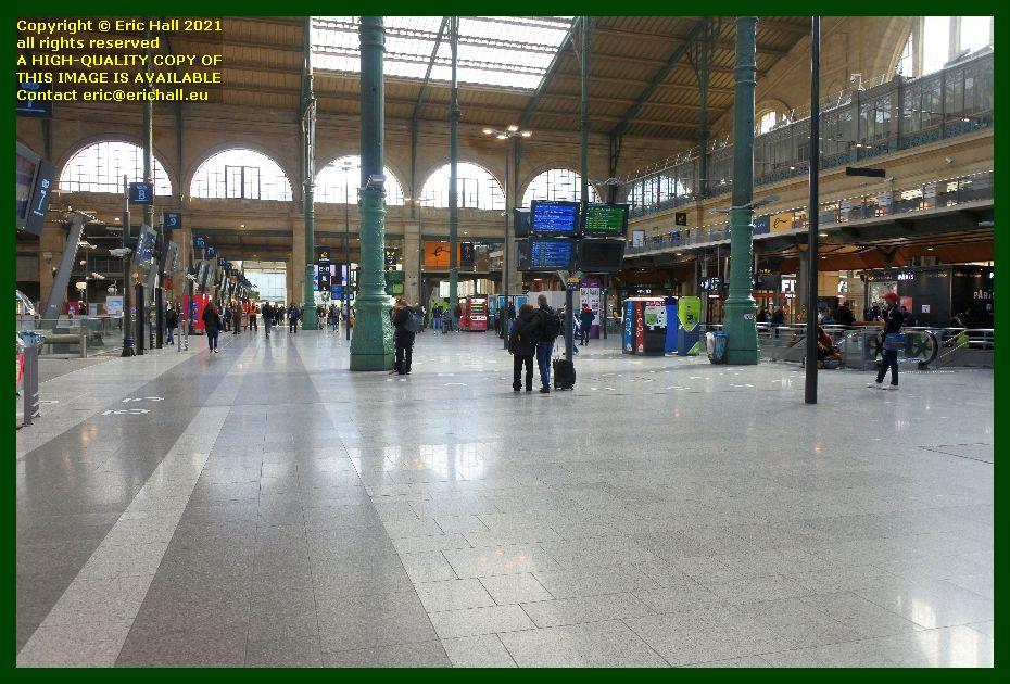 deserted gare du nord paris France Eric Hall