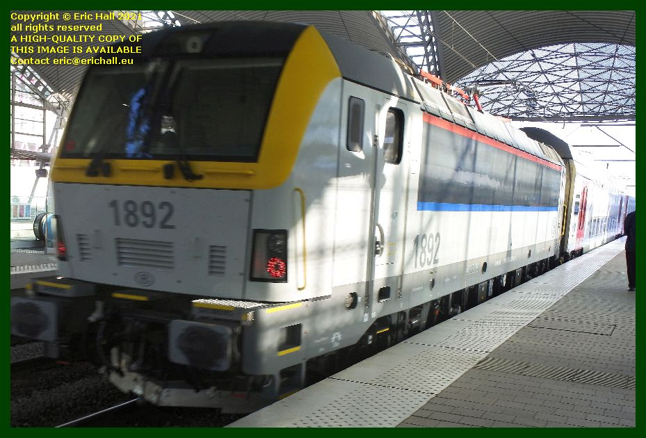 sncb class 18 electric locomotive gare de leuven railway station belgium Eric Hall