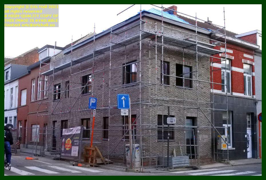 house under repair dekenstraat leuven belgium Eric Hall