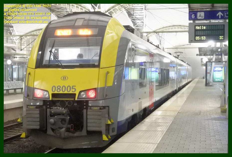 sncb class AM08 multiple unit gare de leuven railway station belgium Eric Hall
