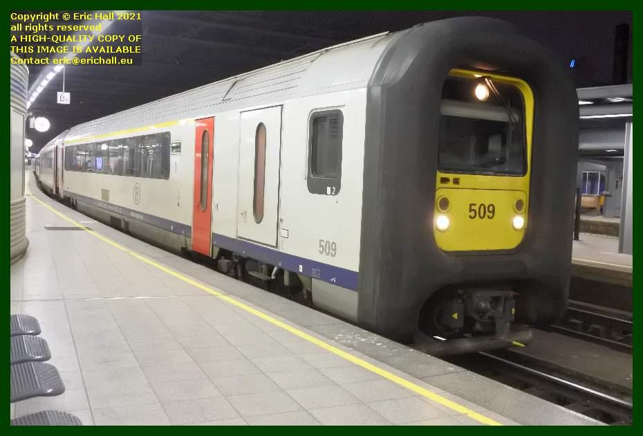 sncb class AM96 multiple unit gare du midi bruxelles belgium  Eric Hall