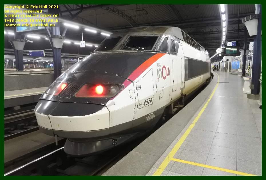 TGV Réseau 38000 tri-volt 4524 gare du midi bruxelles belgium Eric Hall