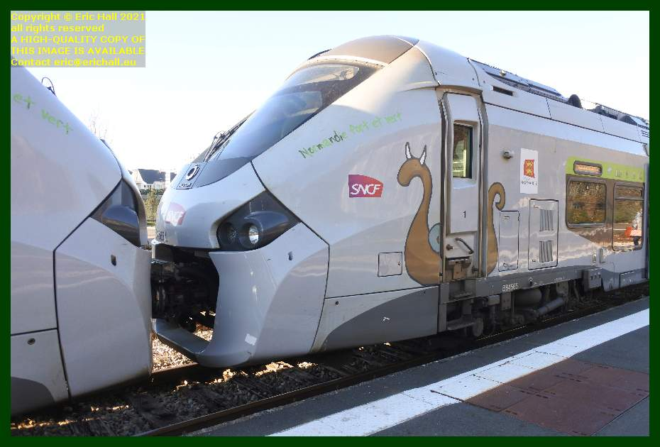 84565 gec alstom regiolis gare de Granville railway station Manche Normandy France Eric Hall