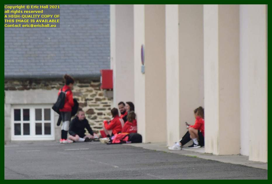 kids at gymnase jean galfione place d'armes Granville Manche Normandy France Eric Hall