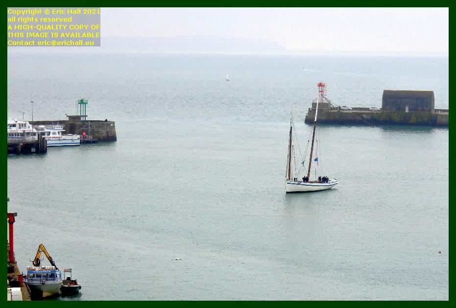 la granvillaise port de Granville harbour Manche Normandy France Eric Hall