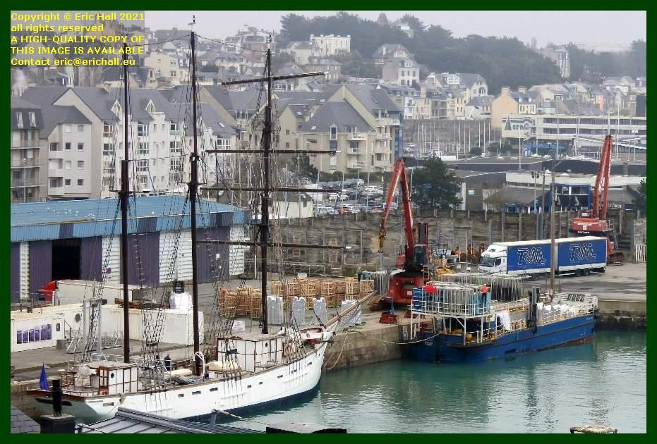 marite normandy trader port de Granville harbour Manche Normandy France Eric Hall