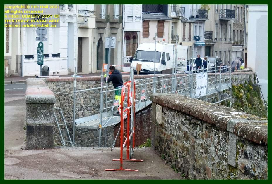 pointing rampe du monte à regret Granville Manche Normandy France Eric Hall