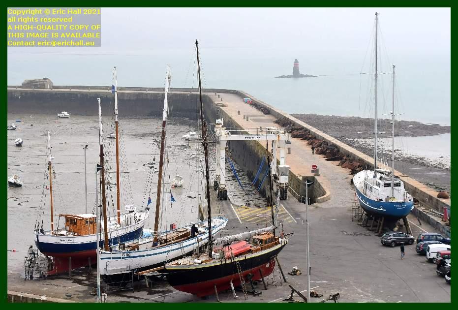 charles marie la granvillaise lys noir aztec lady chantier navale port de Granville harbour Manche Normandy France Eric Hall