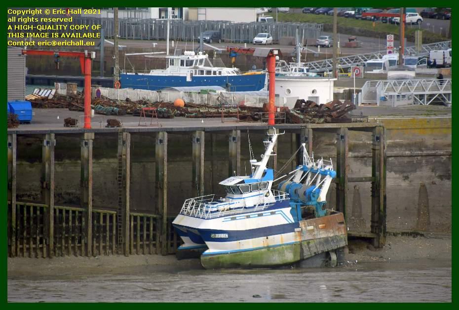 trawler naabsa port de Granville harbour Manche Normandy France Eric Hall