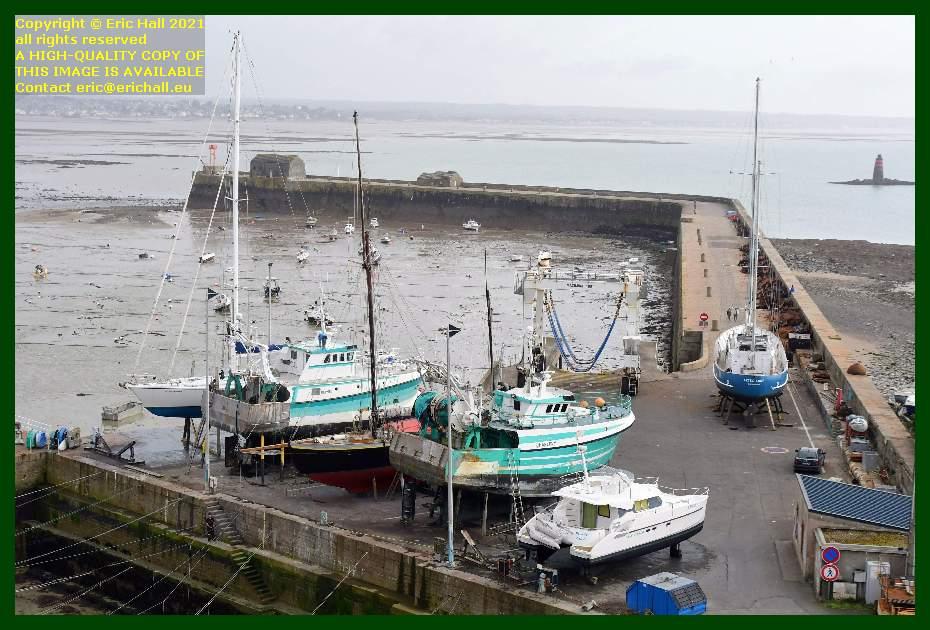 spirit of conrad hermes 1 lys noir charlevy freddy land aztec lady chantier navale port de Granville harbour Manche Normandy France Eric Hall