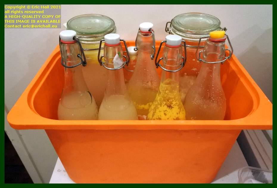 home made ginger beer orange kefir place d'armes Granville Manche Normandy France Eric Hall