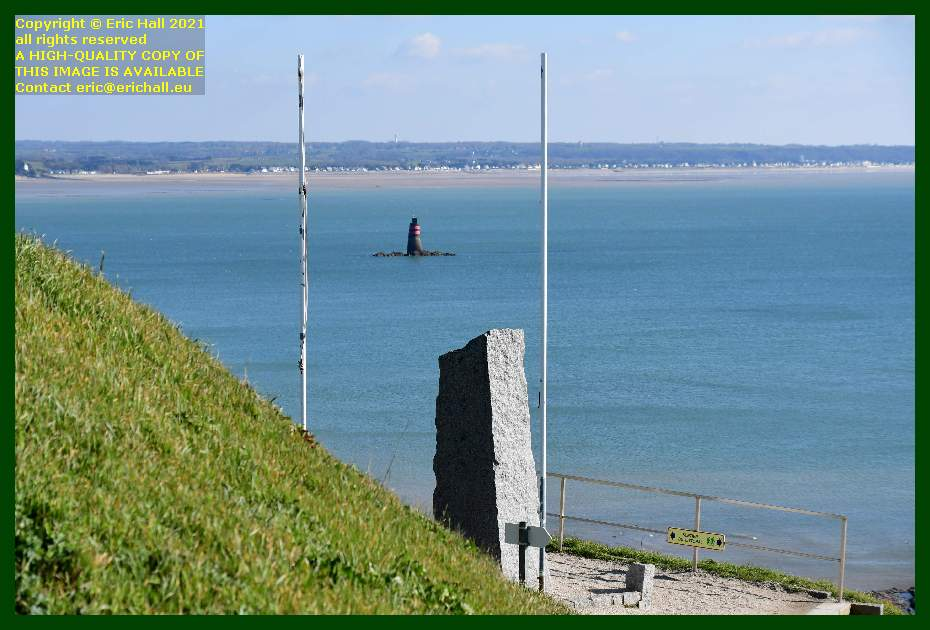 seafarers memorial le loup jullouville Granville Manche Normandy France Eric Hall