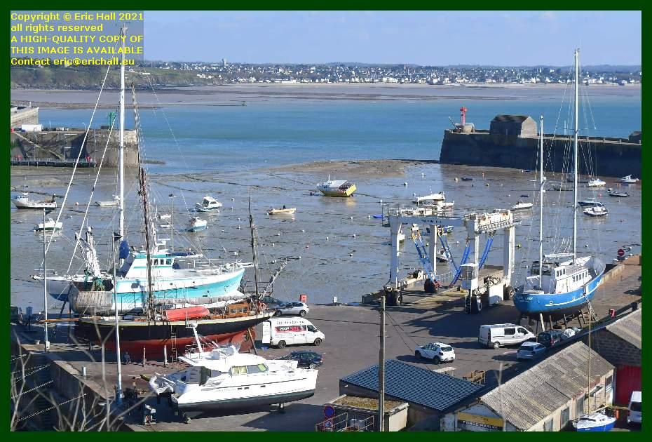 spirit of conrad hermes 1 lys noir freddy land chantier navale port de Granville harbour Manche Normandy France Eric Hall