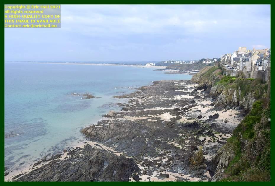beach rue du nord plat gousset donville les bains Granville Manche Normandy France Eric Hall