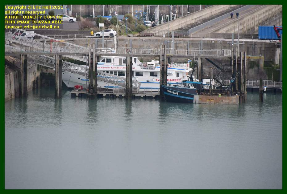 joly france fishing boat ferry port de Granville harbour Manche Normandy France Eric Hall