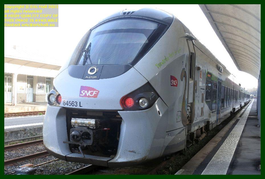 84563 gec alstom regiolis gare de Granville railway station Manche Normandy France Eric Hall
