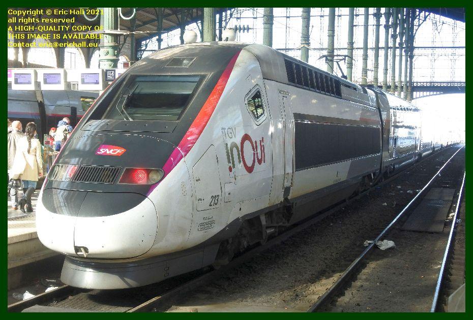 TGV Reseau 213 gare du nord paris France Eric Hall