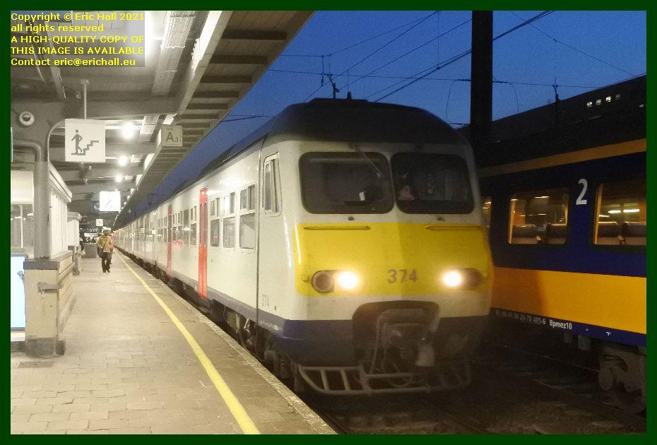 multiple unit am80 automotrice gare du midi brussels belgium Eric Hall