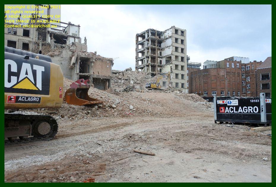 demolition st pieters hospital brusselsestraat leuven belgium Eric Hall