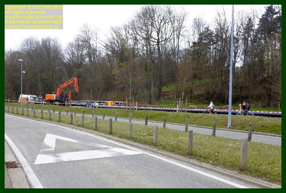 new pipework near the herestraat leuven belgium Eric Hall