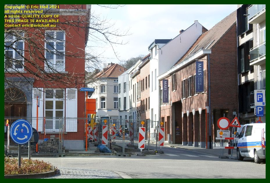 road works brusselsestraat leuven belgium Eric Hall