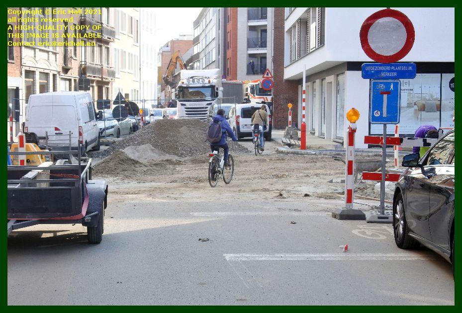 roadworks goudsbloemstraat leuven belgium Eric Hall