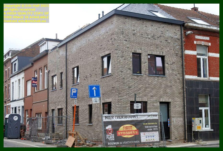 house building dekenstraat leuven belgium Eric Hall