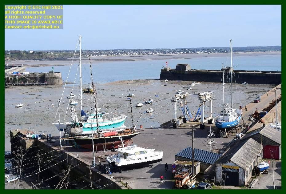 spirit of conrad hermes 1 lys noir freddy land aztec lady chantier navale port de Granville harbour Manche Normandy France Eric Hall