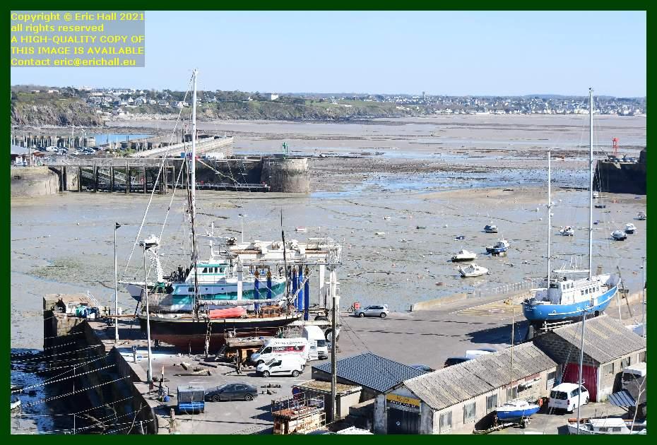 spirit of conrad hermes 1 lys noir aztec lady chantier navale port de Granville harbour Manche Normandy France Eric Hall