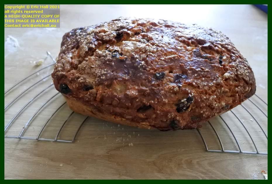 home made sourdough fruit loaf place d'armes Granville Manche Normandy France Eric Hall